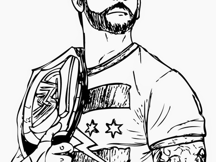 roman reigns cartoon drawing at getdrawings com free for personal