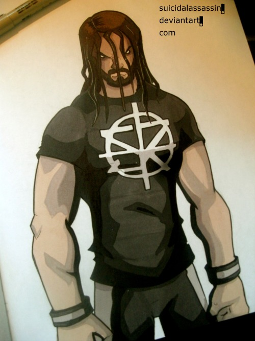 500x667 Willie J Smith Ii, Had To Draw Seth Freakin' Rollins. In What