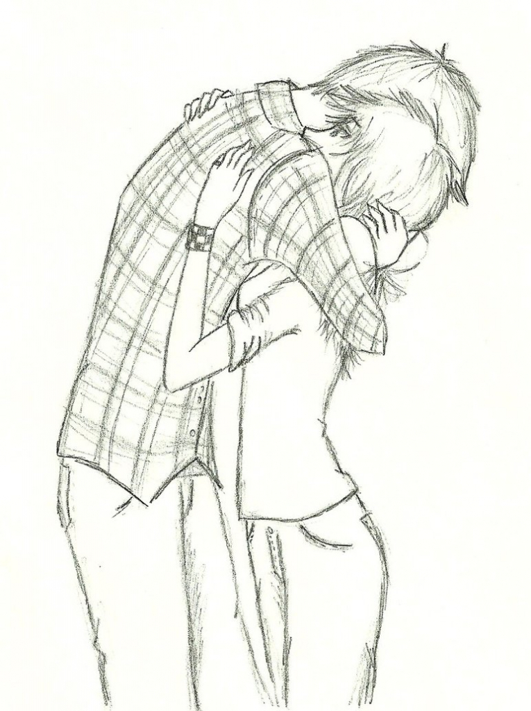 765x1024 Easy Drawing Romantic Ideas About Anime Couples Hugging