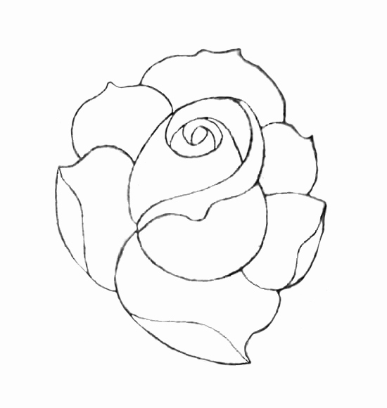 550x580 Traditional Rose Tattoo Drawing New Tumblr Traditional Rose Tattoo