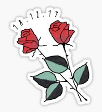 210x230 Tumblr Rose Drawing Stickers Redbubble