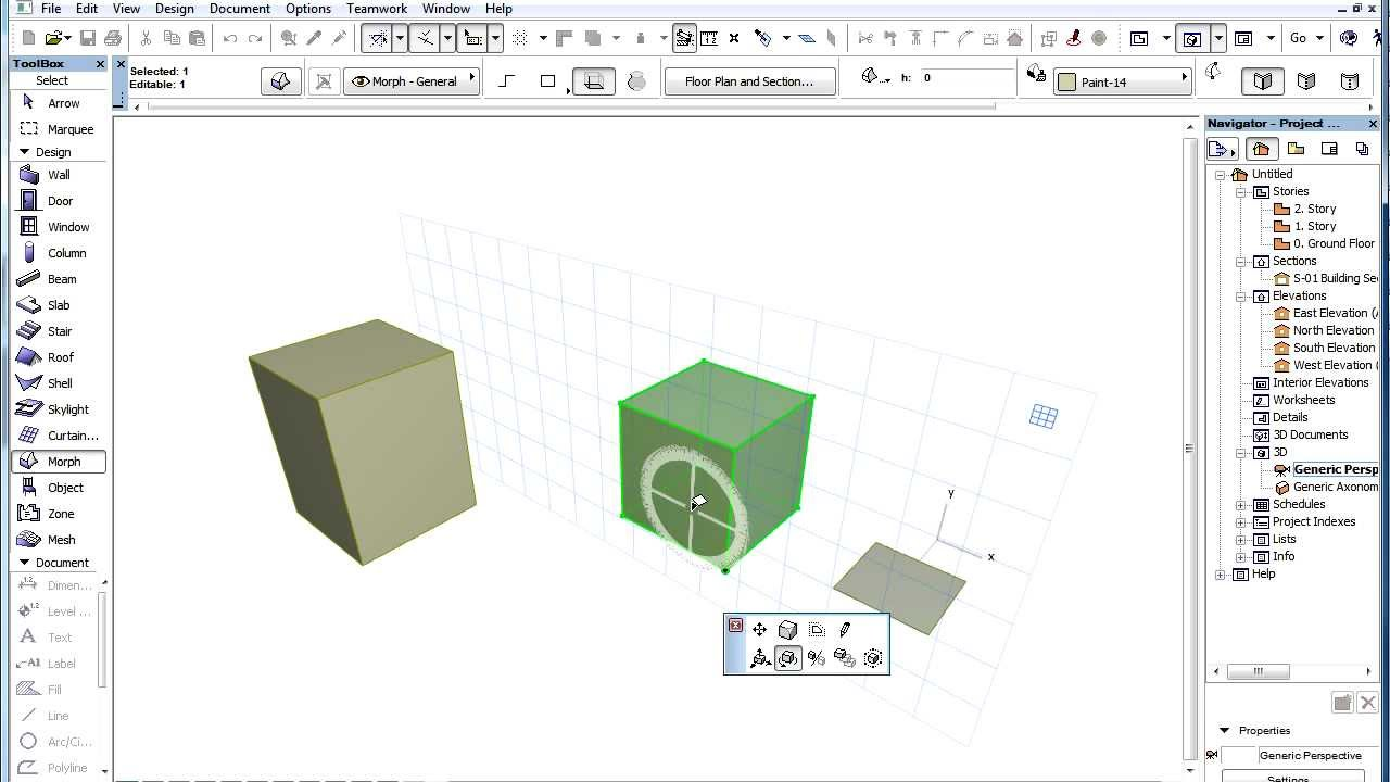 1280x720 3d Interactions In Archicad