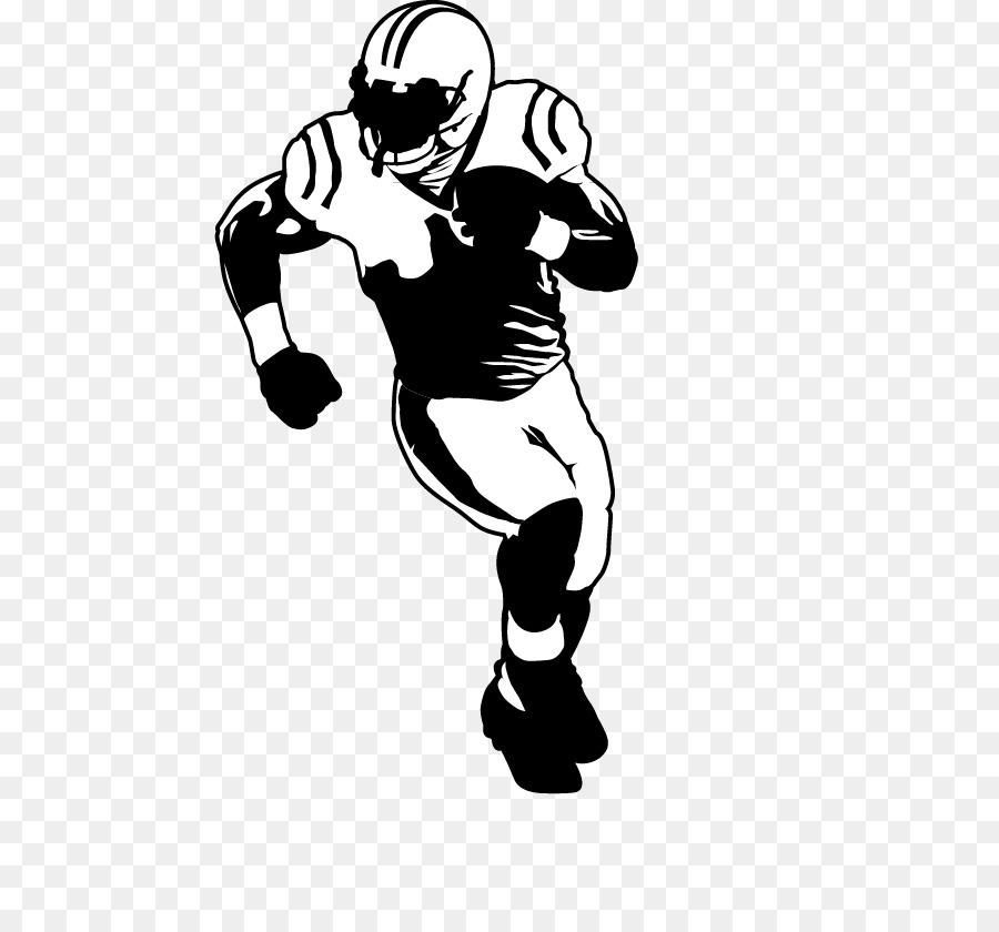 900x840 American Football Football Player Drawing