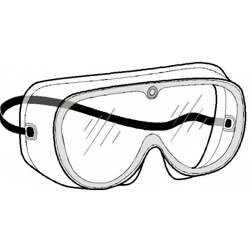 Safety Glasses Drawing
