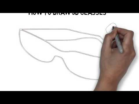 480x360 How To Draw 3d Glasses
