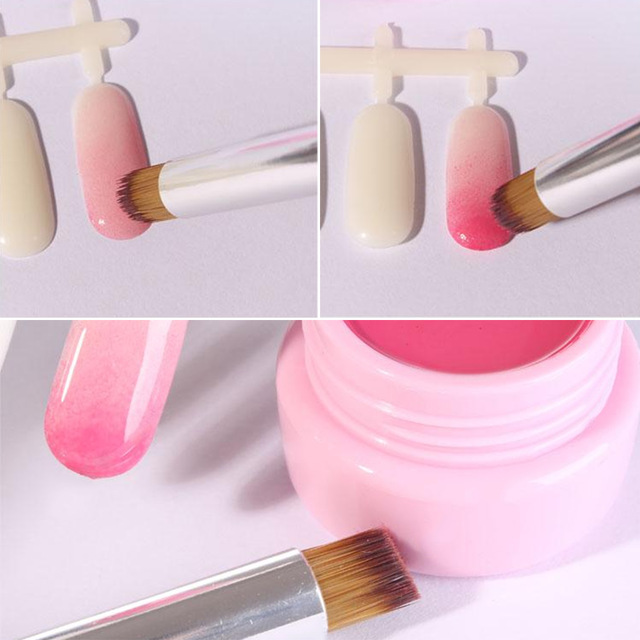 640x640 1pc Manicure Painting Shanding Pen Diy Salon Drawing Tool Dark Red