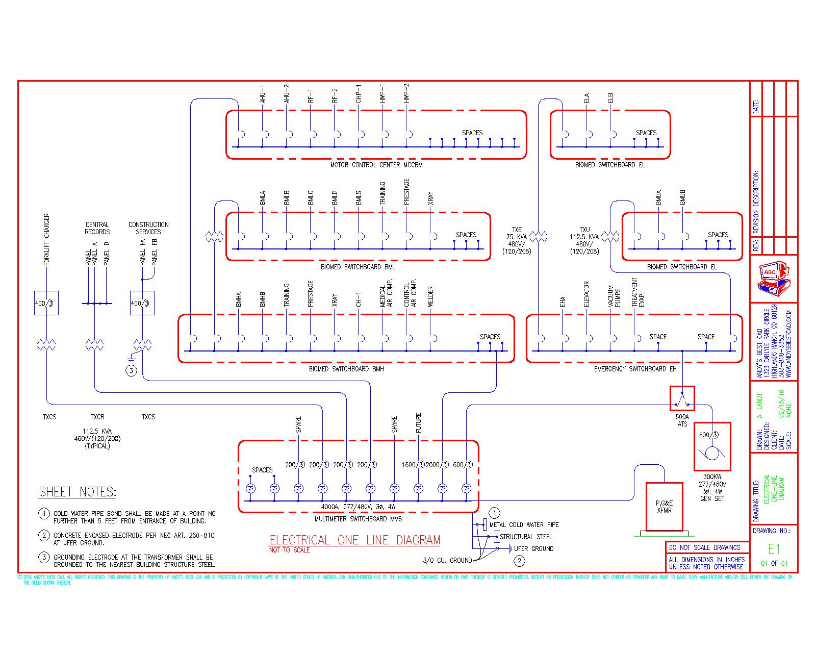Sample Drawing At Free For Personal Use Hvac Duct Example 1600x1280 Autocad Electrical Drafting Samples