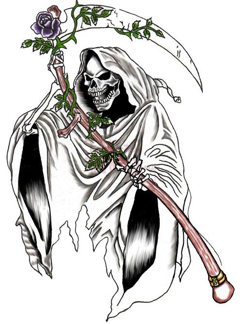 Santa Muerte Tattoo Drawing at GetDrawings com | Free for