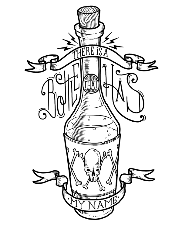 600x753 A Mi Santa Muerte On Behance Illustration And Drawing