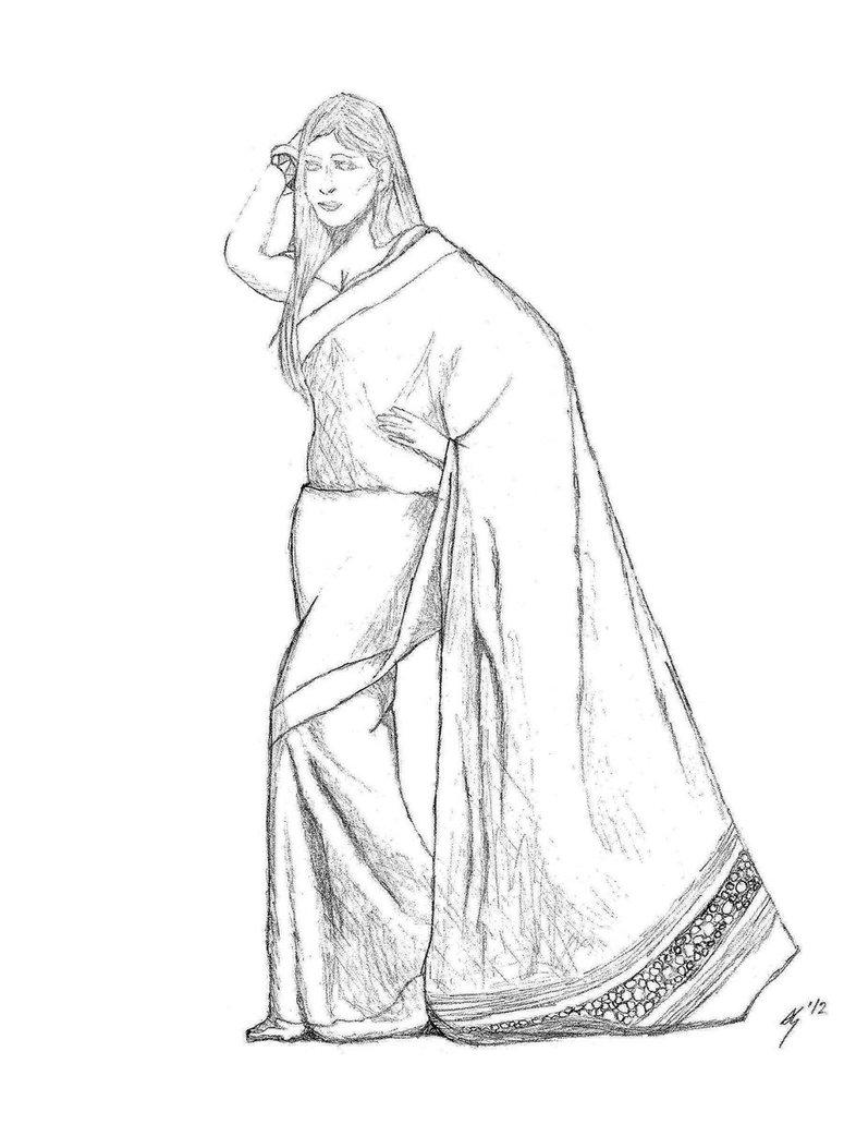 Sari Drawing