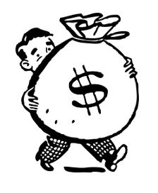 224x272 Collection Of Saving Money Drawing High Quality, Free