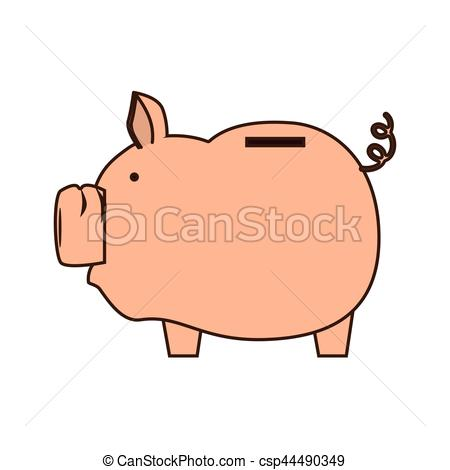 450x470 Piggy Savings Money Icon Vector Illustration Design Eps Vector