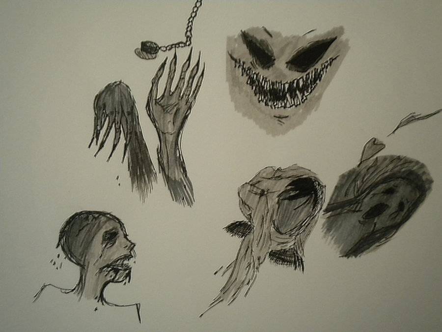 900x675 Derp Scary Drawings By Nickelisthebest
