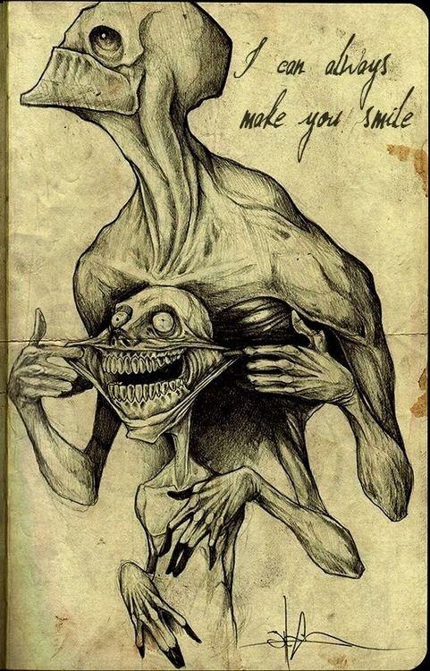 481x750 El Arte De Shawn Coss. Creepy, Dark Art And Drawings