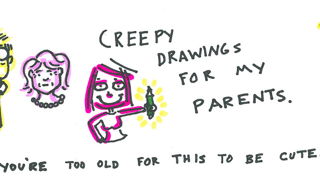 640x360 My Drawings Are Creepy Tumblr