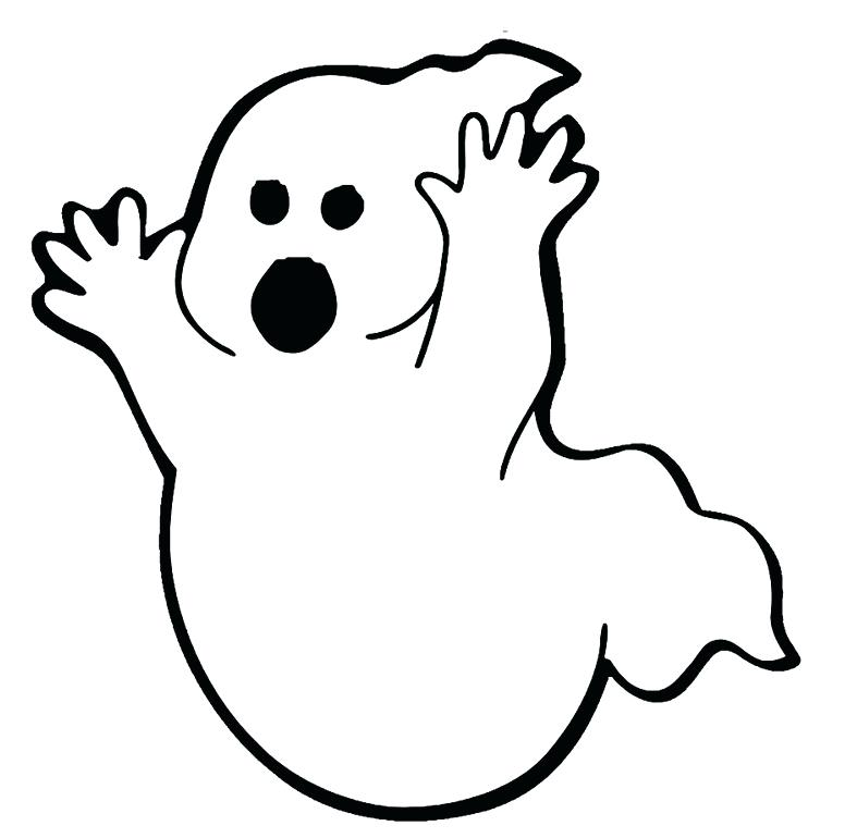 787x770 Ghost Coloring Pages Ghost Coloring Pages Scary Ghost Coloring