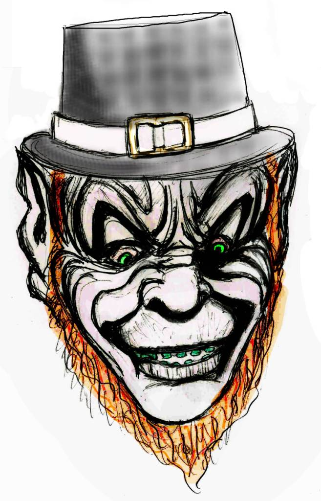 Scary Leprechaun Drawing at GetDrawings.com | Free for personal use ...