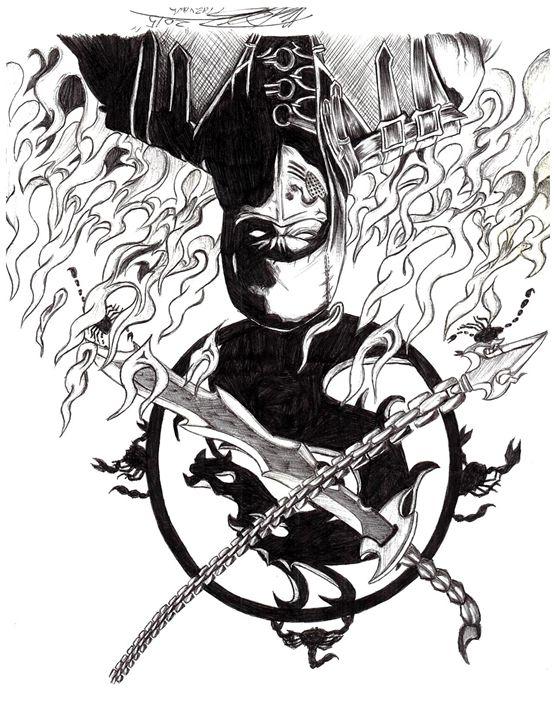 Mortal Kombat X Para Colorear - tongawale.com