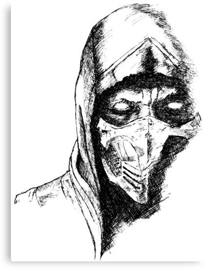 Scorpion Mortal Kombat Drawing at GetDrawings.com | Free for ...