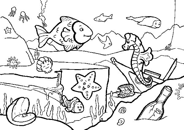 600x425 Seaside Coloring Pages Seaside Colouring Picture Gras Sicpas
