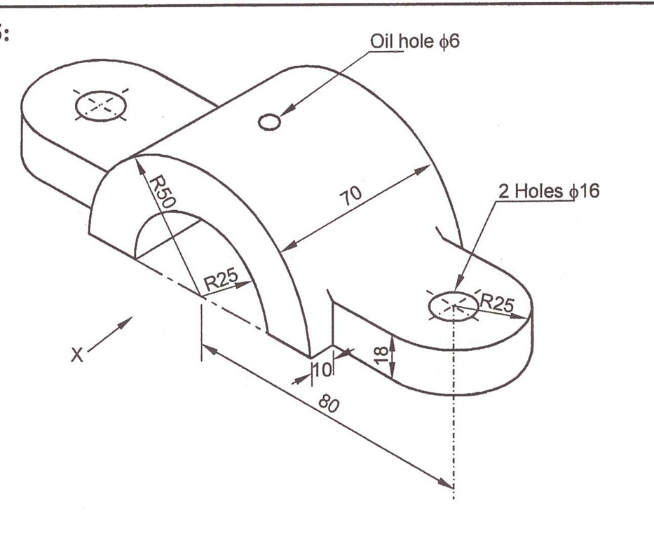 Sectional View Engineering Drawing Exercises at GetDrawings