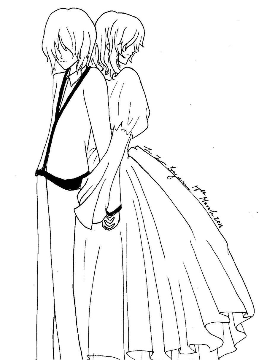 900x1215 Servant Of Evil Len And Rin 3 By Tsubasasaki