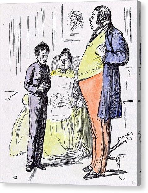 477x622 Servant Boy 1874 Pain Interior Man Woman Britain Painting Drawing