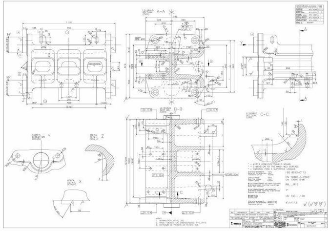 676x473 3d Jaw Crusher C100 Metso Complete Set Of Drawings
