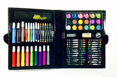 500x331 Art Materials And Craft Drawing Set, 80 Piece Kit Plus Kids