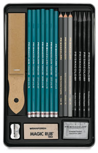 192x300 Prismacolor Graphite Drawing Set