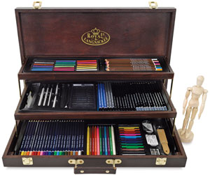 300x251 Royal Langnickel Deluxe Drawing Set