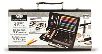 355x187 Royal And Langnickel Beginners Sketching And Drawing Set Amazon