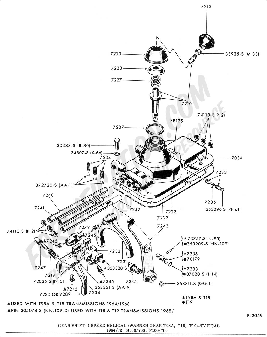 1024x1292 Gear Shift Diagram Ford Truck Technical Drawings And Schematics