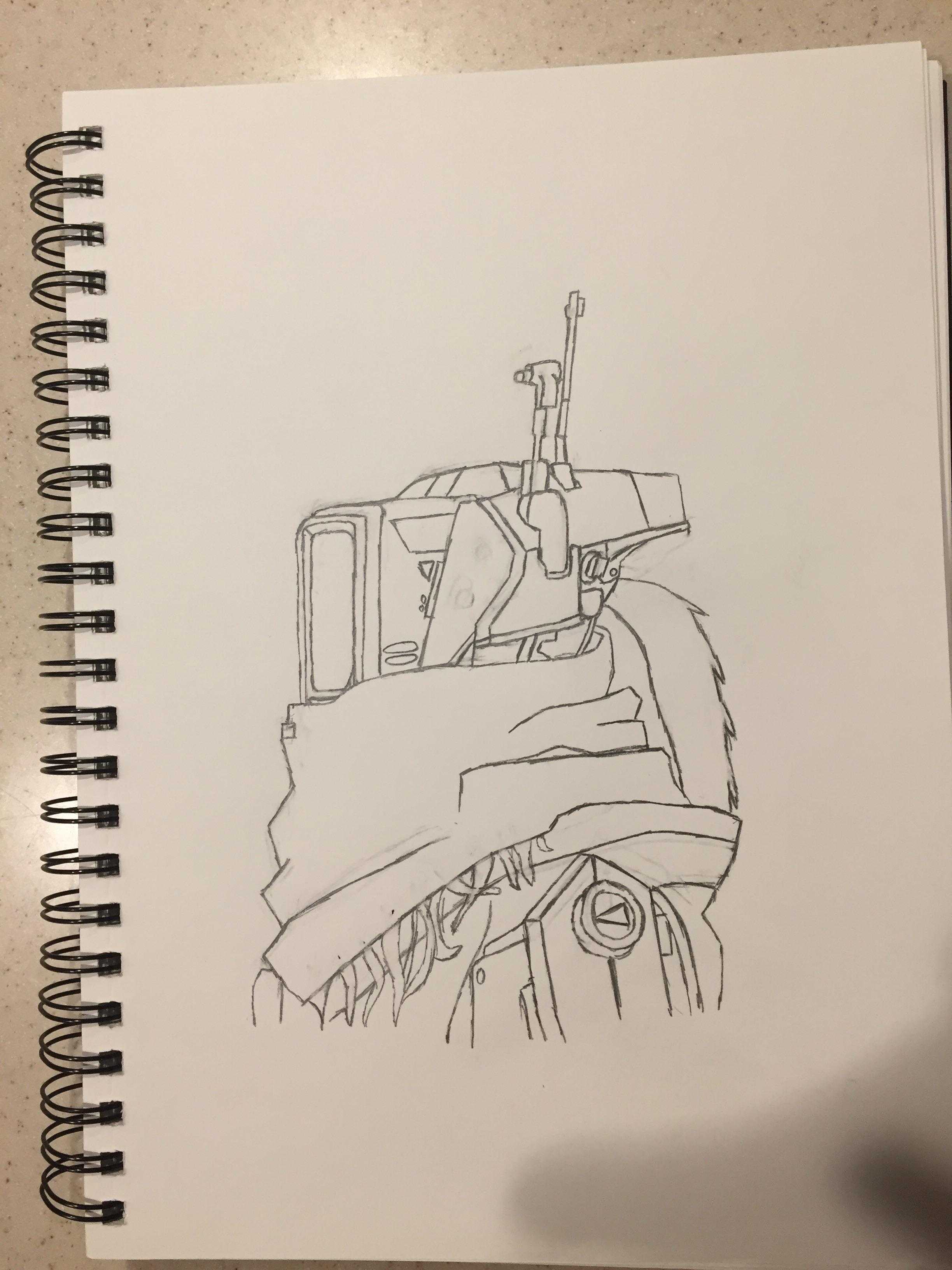 2448x3264 A Drawing Of Phase Shift I Made! Hope The Community Likes It