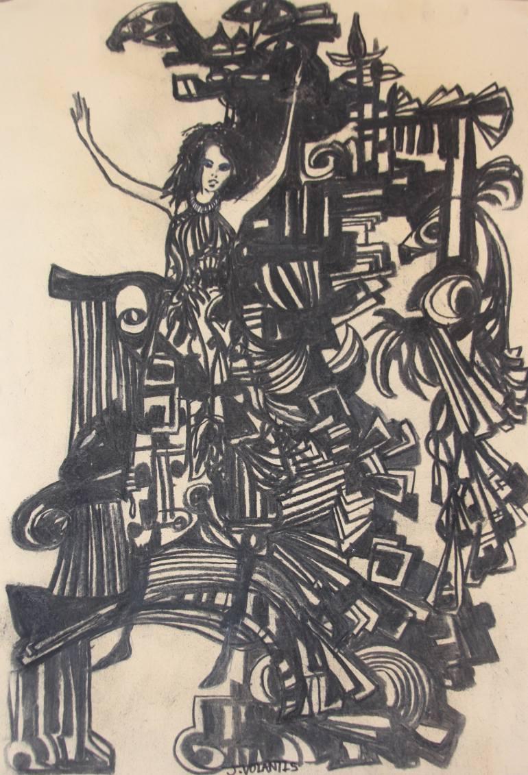 770x1131 Saatchi Art Galactic Shift Drawing By Elk Volantis