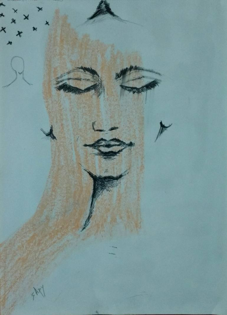 770x1069 Saatchi Art The Shift Drawing By Apurva Subiah