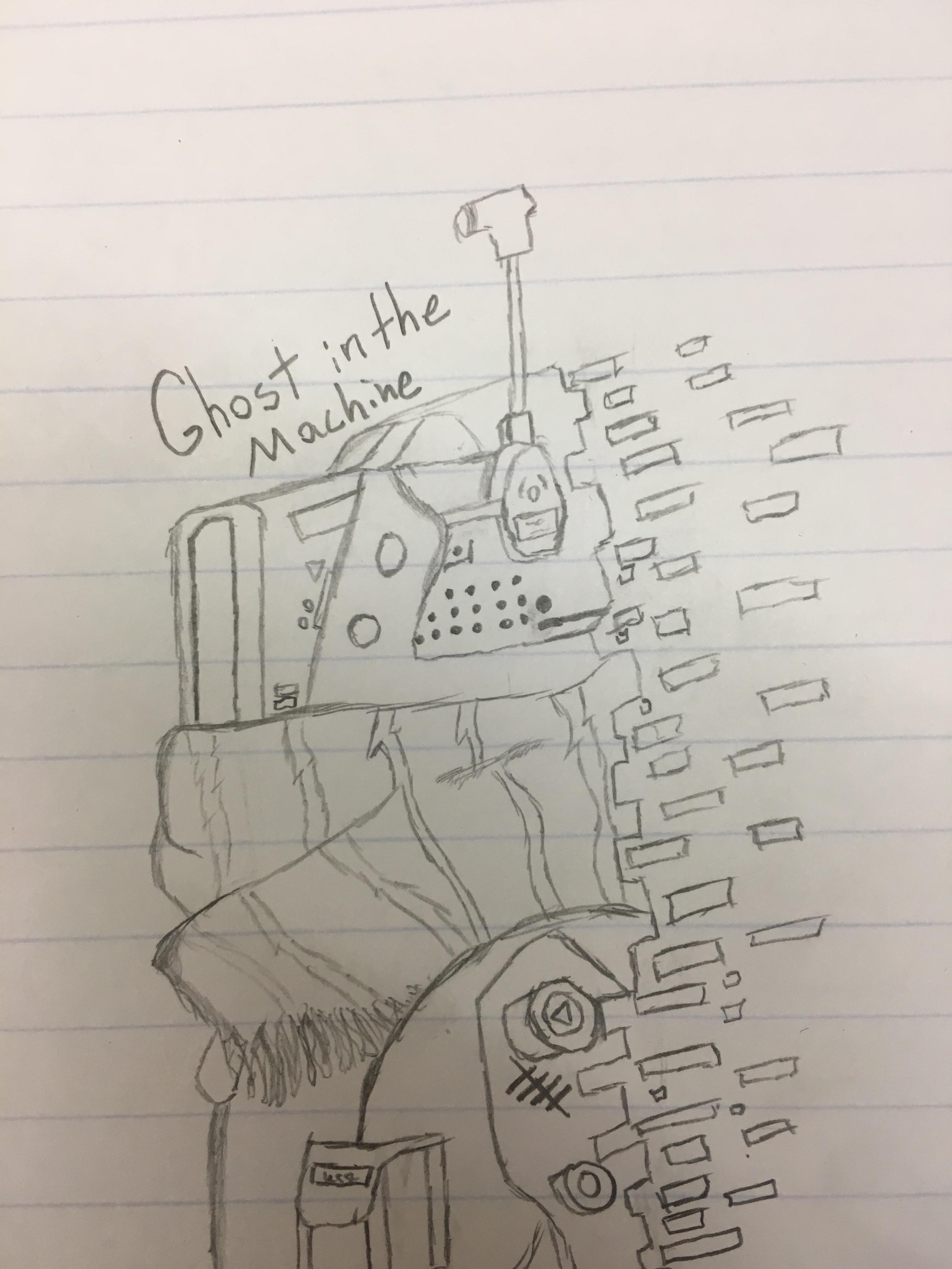 3024x4032 Tried Drawing The Phase Shift Pilot Exiting The Shift Titanfall