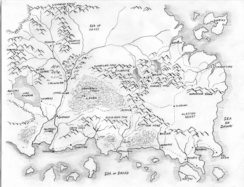 2197x1687 Let's Read] The Known Worldmystara