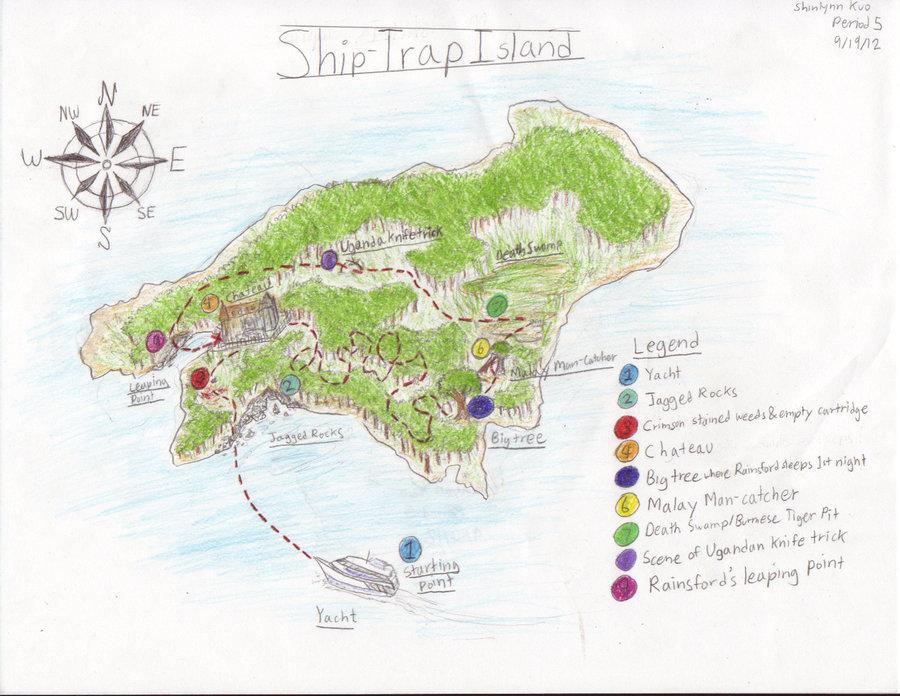 900x696 Ship Trap Island By Blackneko42