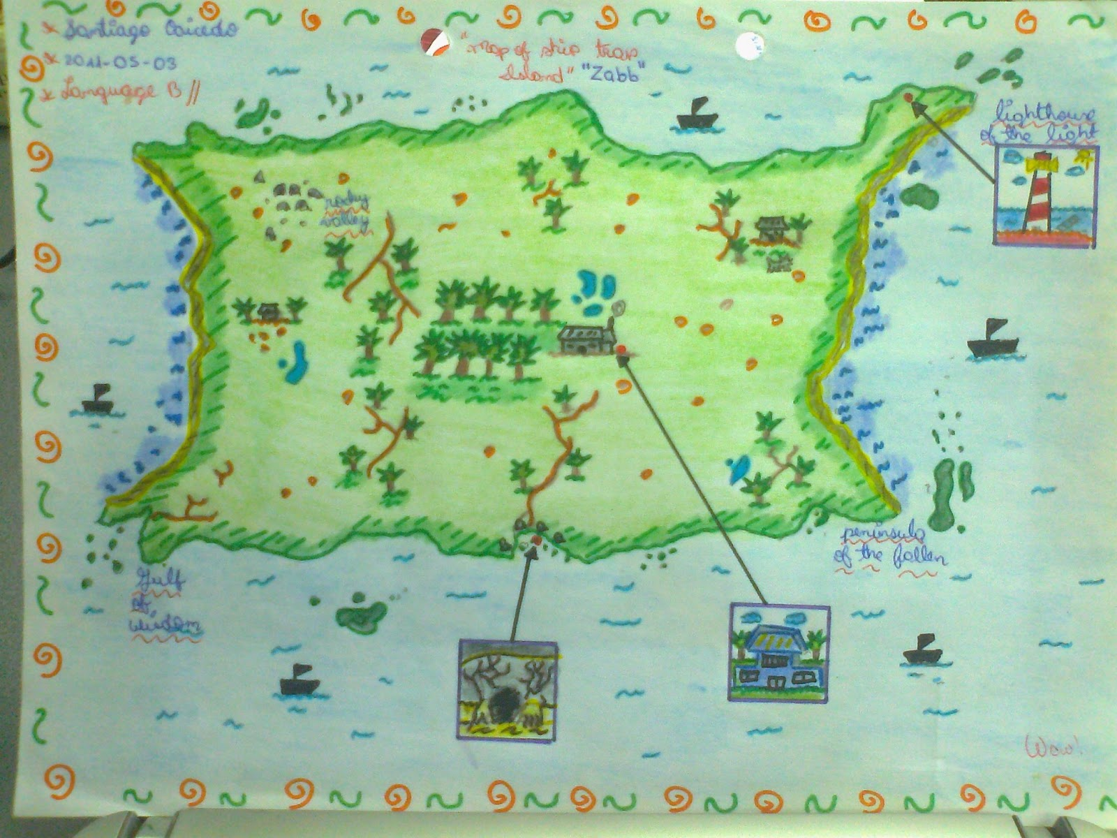 1600x1200 The Maps Of Ship Trap Island The Wealth Of English