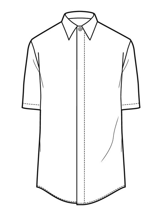 Shirt Drawing Images