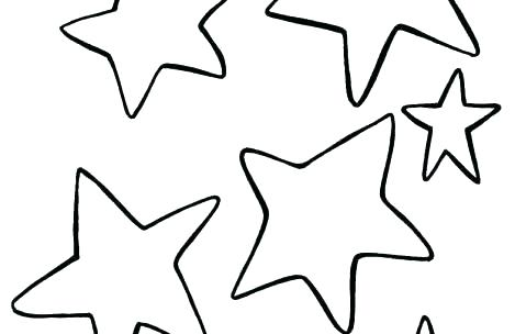 469x304 Free Shooting Star Coloring Pages Children Coloring Outstanding
