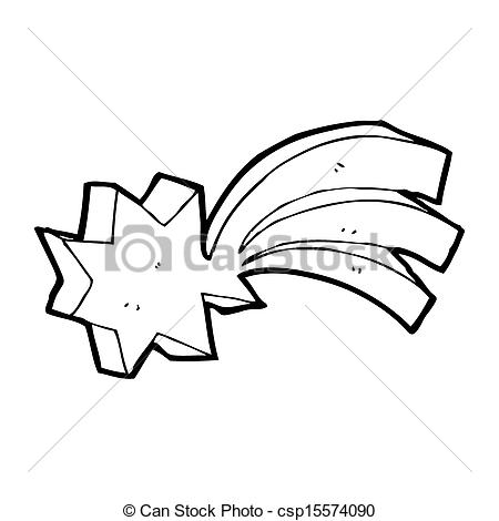 450x470 Shooting Star Cartoon Element Stock Illustration