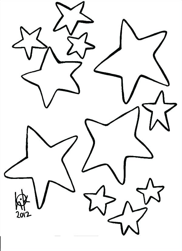 600x825 Small Star Coloring Page Shooting Stars Coloring Pages Awesome