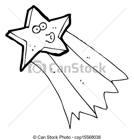 450x470 Cartoon Shooting Star Drawings