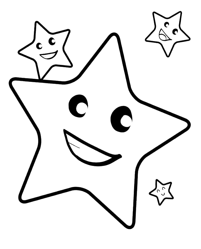 700x867 Drawn Shooting Star Coloring Page