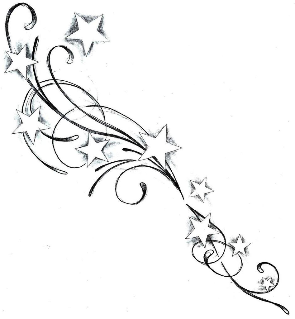 947x1024 Shooting Star Tattoo Drawings Images About Tatt!