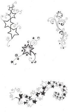 236x373 Star Tattoo Designs Shooting Stars, Star And Tattoo