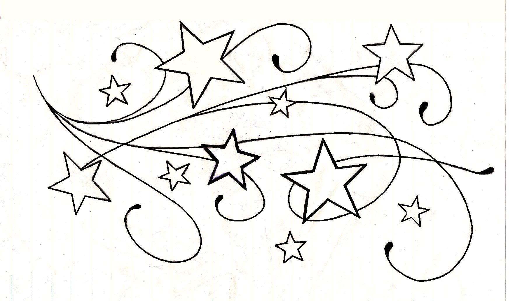1765x1033 Collection Of Shooting Star Tattoo Drawing High Quality