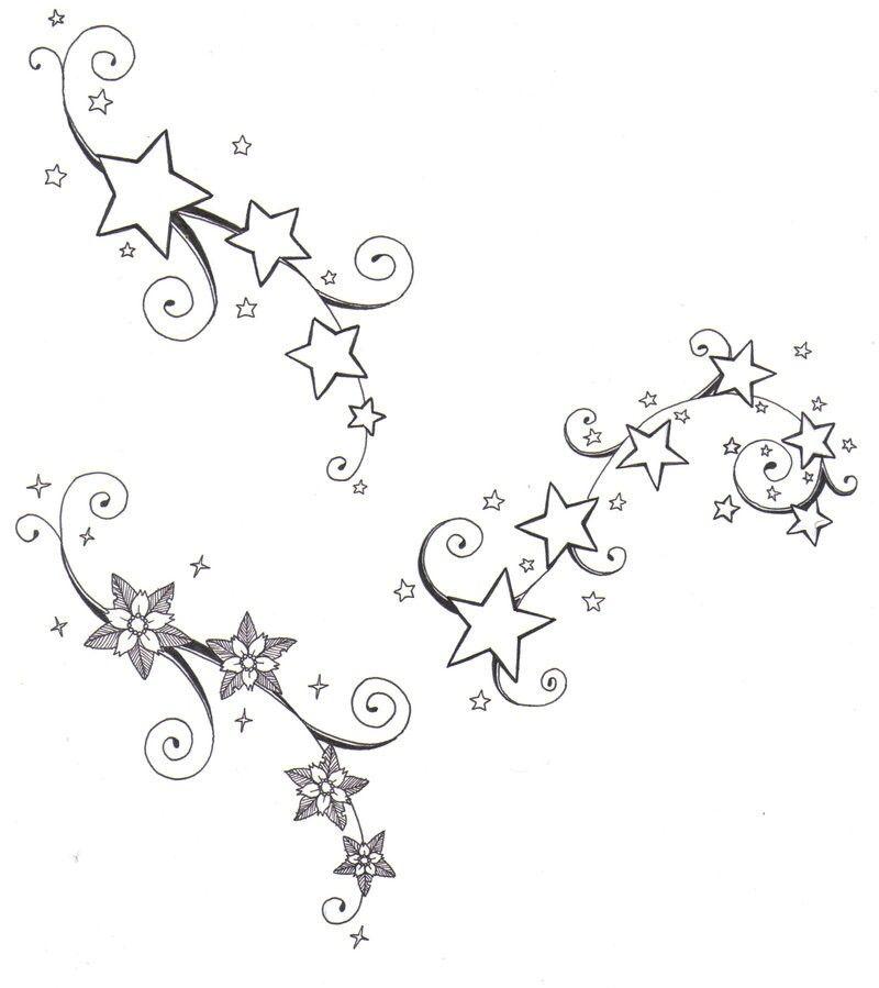 800x899 Star Tattoo Sadia Tattoo, Star Tattoo Designs